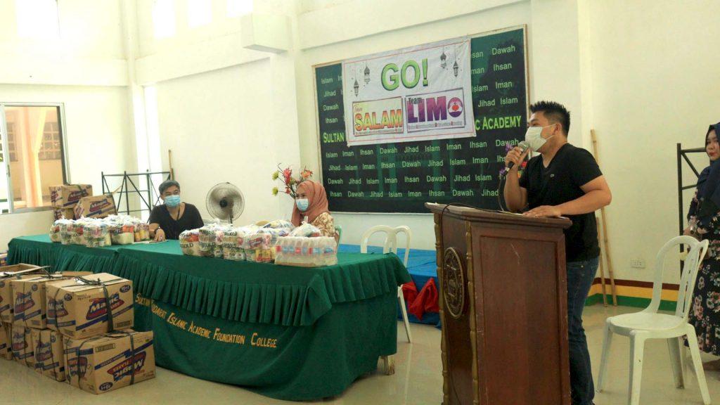 Mayor Mastura and MP Mastura Distribute Grocery Supplies to SKIA Teachers and Staff