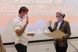 "Datu Ismael ""Dustin"" Veloso Mastura takes oath as new NCMF Commissioner"