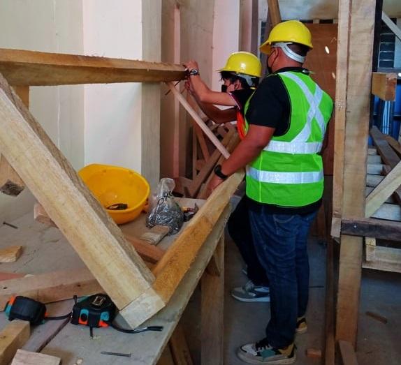 SKIA trainees complete Carpentry NC II training under STEP